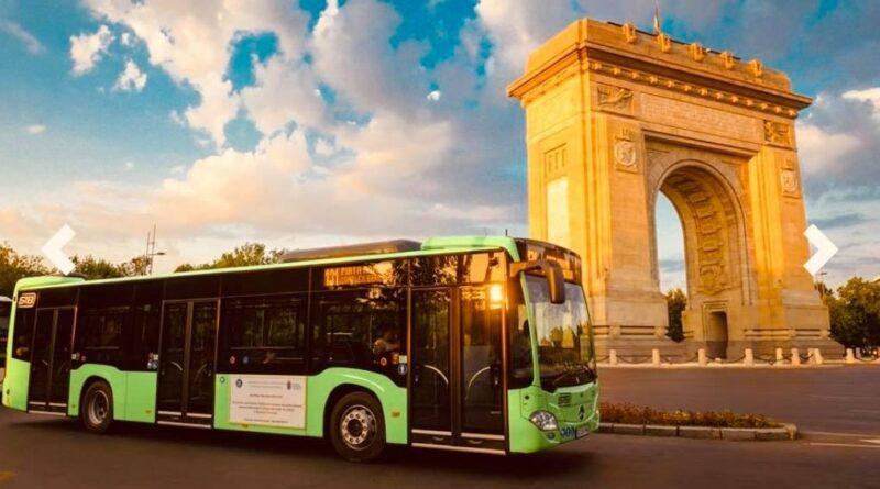 Cele 23 de autobuze Mercedes-Benz Citaro Hybrid, din cele 130 achiziționate de către Primăria Capitalei, circulă în București