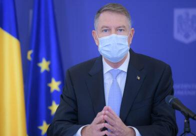Şeful statului: Reformele nu pot să mai aștepte, 2021 este anul în care trebuie puse bazele unei sănătoase reașezări a societății românești