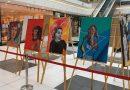 Luna Femeii se aniversează în continuare la Iris Titan Shopping Center, cu o expoziție de picturi realizate de femei